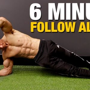 6 Pack Abs Workout | Just 6 Minutes!! (FOLLOW ALONG)