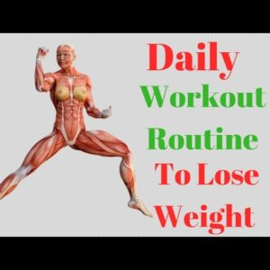 Daily Workout Routine to Lose Weight After 30