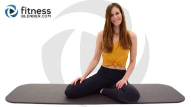 Pilates Butt and Thigh Workout for Glute Activation - Mat Pilates Flow with Ascending Reps