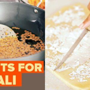 I Tried Making 3 Popular Diwali Sweets • Tasty