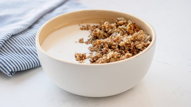 Keto Granola Cereal Recipe