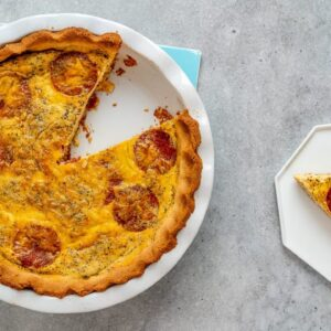 Keto Pepperoni Pizza Quiche Recipe