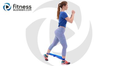 Glute Activation Workout with Bands - Knee Friendly Butt and Thigh Workout