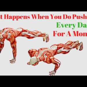 What Happens When You Do Push-Ups Every Day for A Month?