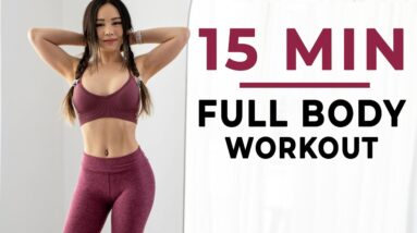 15 Min Full Body Workout 💪 Home Routine with Dumbbells