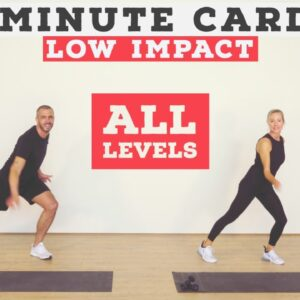 Fun 15 minute low impact no equipment cardio/resistance home workout