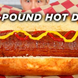 I Made A Giant 20-Pound Hot Dog • Tasty