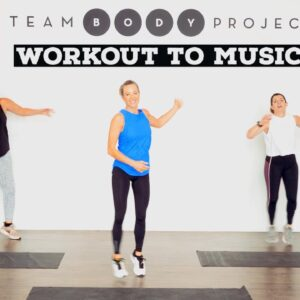 100% Low impact, all standing, FUN cardio workout to music! ALL fitness levels.
