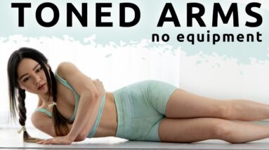 10 min Toned Arms & Upper Body Workout | No Equipment