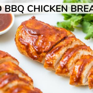 BAKED BARBECUE CHICKEN BREAST | moist, oven-baked recipe