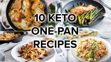 10 Keto One-Pan Recipes with Easy Cleanup