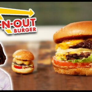 I Tried To Make Mini In-N-Out Burgers • Tasty