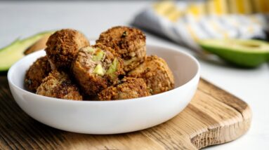 Keto Recipe - Avocado Tuna Melt Bites