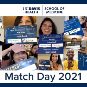 Match Day 2021 - UC Davis School of Medicine
