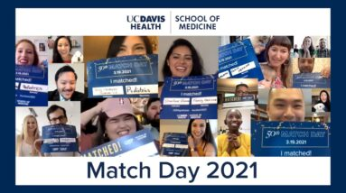 Match Day 2021 - UC Davis School of Medicine