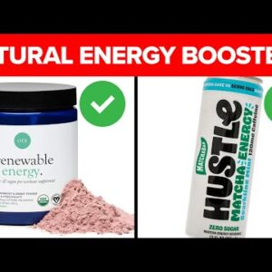 10 Natural Drinks That Will Boost Your Energy!