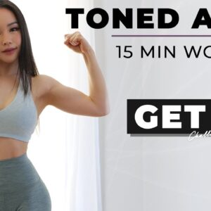 15 Min Toned Arms & Upper Body Workout - Beginner Friendly with Dumbbells