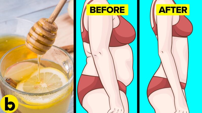 Drink Honey Lemon Water Once A Week For 1 Month, See What Happens