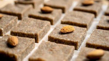 Keto Fat Bomb Recipe [Almond Butter Chia Squares]