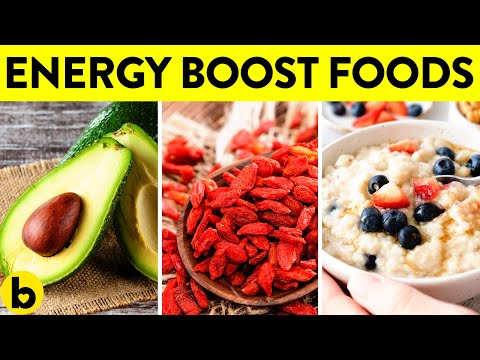 9 Foods That Will Boost Your Energy Right Away!