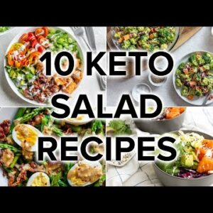10 Nutrient-Packed Keto Salads for Any Time