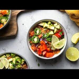 Keto Burrito Bowl [Beefy & Super Easy]