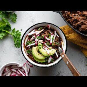 Keto Vegan Walnut Chili Recipe