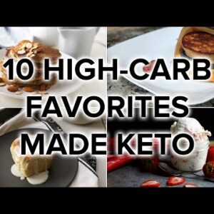 10 High Carb Favorites Turned into Low Carb & Keto Meals