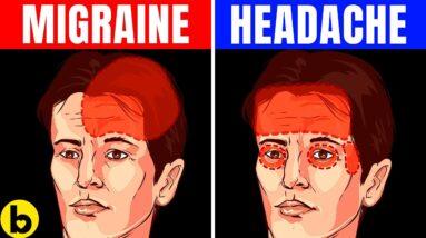 8 Unbeatable Ways To Differentiate Between Migraine and Headache
